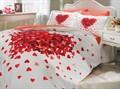 КПБ Hobby Poplin Juana червоний 200*220/160*200+25 на рез./2*50*70 - фото 6195