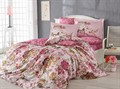 КПБ Hobby Exclusive Sateen Rosanna рожевий 200*220/4*50*70 - фото 6368