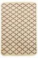 Набір килимків SOLO 40*60+60*90 KREM PEMBE GEOMETRI - фото 6893