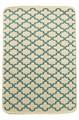 Набір килимків SOLO 40*60+60*90 KREM MAVI GEOMETRI - фото 6895