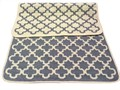 Набір килимків SOLO 40*60+60*90 KREM GRI GEOMETRI - фото 6908