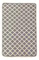 Набір килимків SOLO 40*60+60*90 KREM GRI GEOMETRI - фото 6909