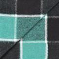 """Плед Vladi """"Palermo"""" 140*200 чорн-зел-біл - фото 7108"""