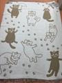 "Плед Vladi жаккард ""Cats"" 140*200 бежевий (нов) - фото 7246"