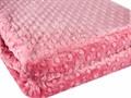 Покривало-плед HOBBY TOMURCUK т.рожевий 200*220 - фото 7391