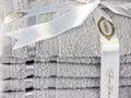 Набір рушників NISA св.сірий 30*50 6шт. - фото 8251