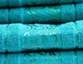 Рушник махр Ottoman 70*140 бірюзовий 450г/м2 - фото 8935