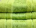 Рушник махровий Ottoman 70*140 салатовий 450г/м2 - фото 8940