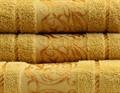 Рушник махр Ottoman 70*140 гірчичний 450г/м2 - фото 8943