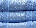 Рушник махровий Ottoman 70*140 блакитний 450г/м2 - фото 8946