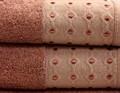 Рушник махр Bamboo Puan 50*90 сливовий 520г/м2 - фото 8983