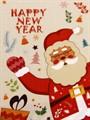 Набір рушників д/кухні New Year V3 40*60 2 шт. - фото 9125