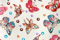Рушник махровий Метелик 30*50 кольоровий 350г/м2 - фото 9288